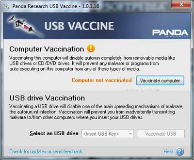 diet virus usb