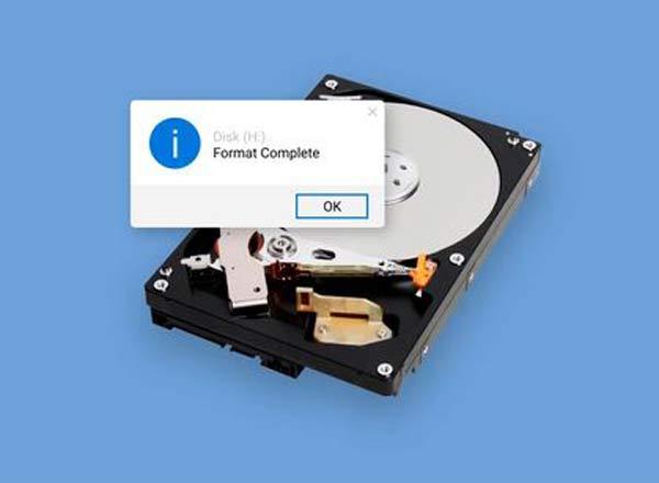 khôi phục dữ liệu ổ cứng bị format